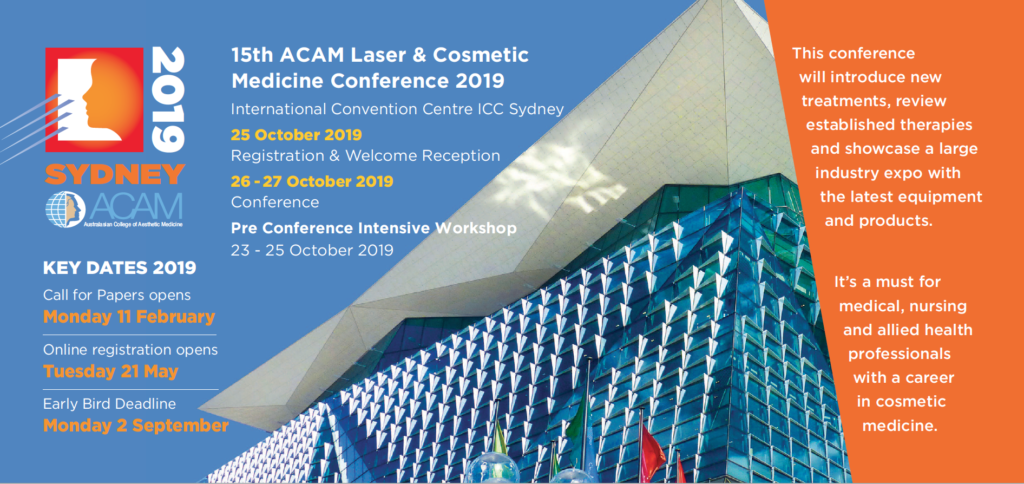 15th ACAM Laser and Cosmetic Medicine Conference 2019 Plus